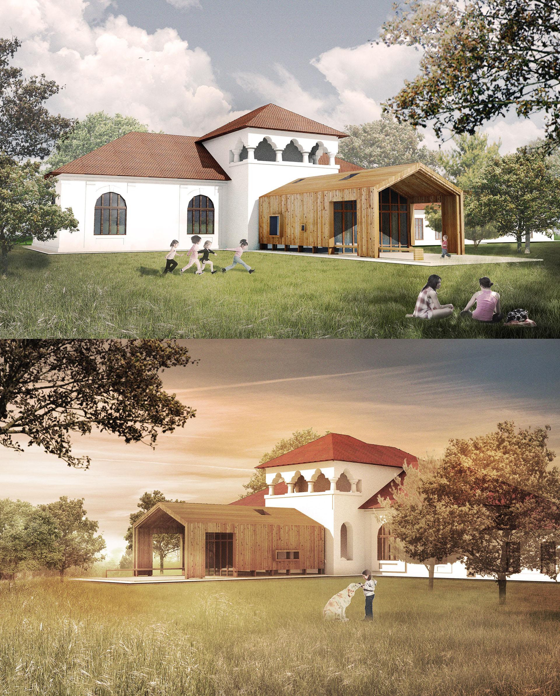 Centrul HOSPICE Adunatii Copaceni - exterior